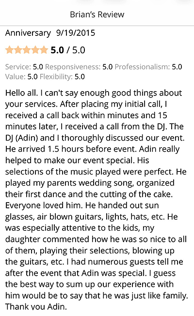 Adin - Testimonial