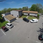 Aerial View of Piano Man Productions.