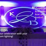 Personalized Monogram Lighting